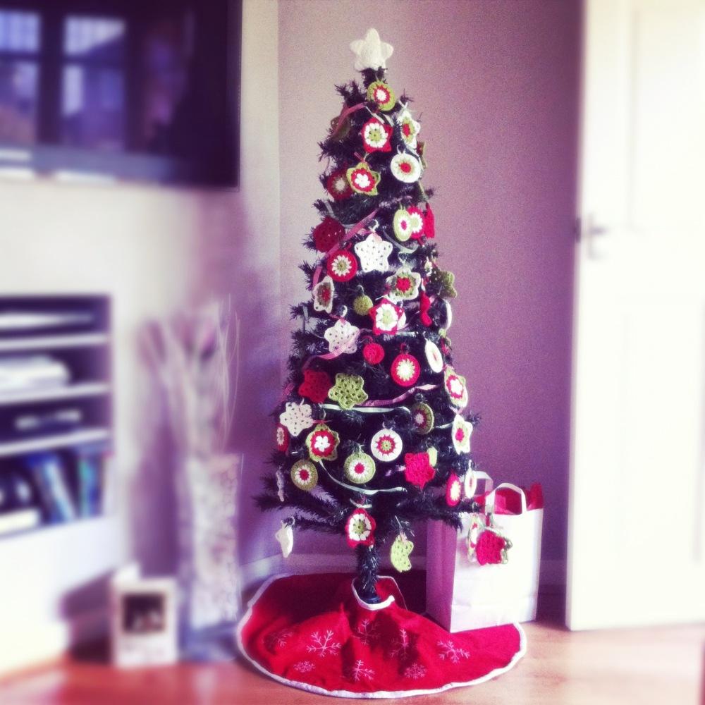 Christmas tree, crochet style! (1/5)