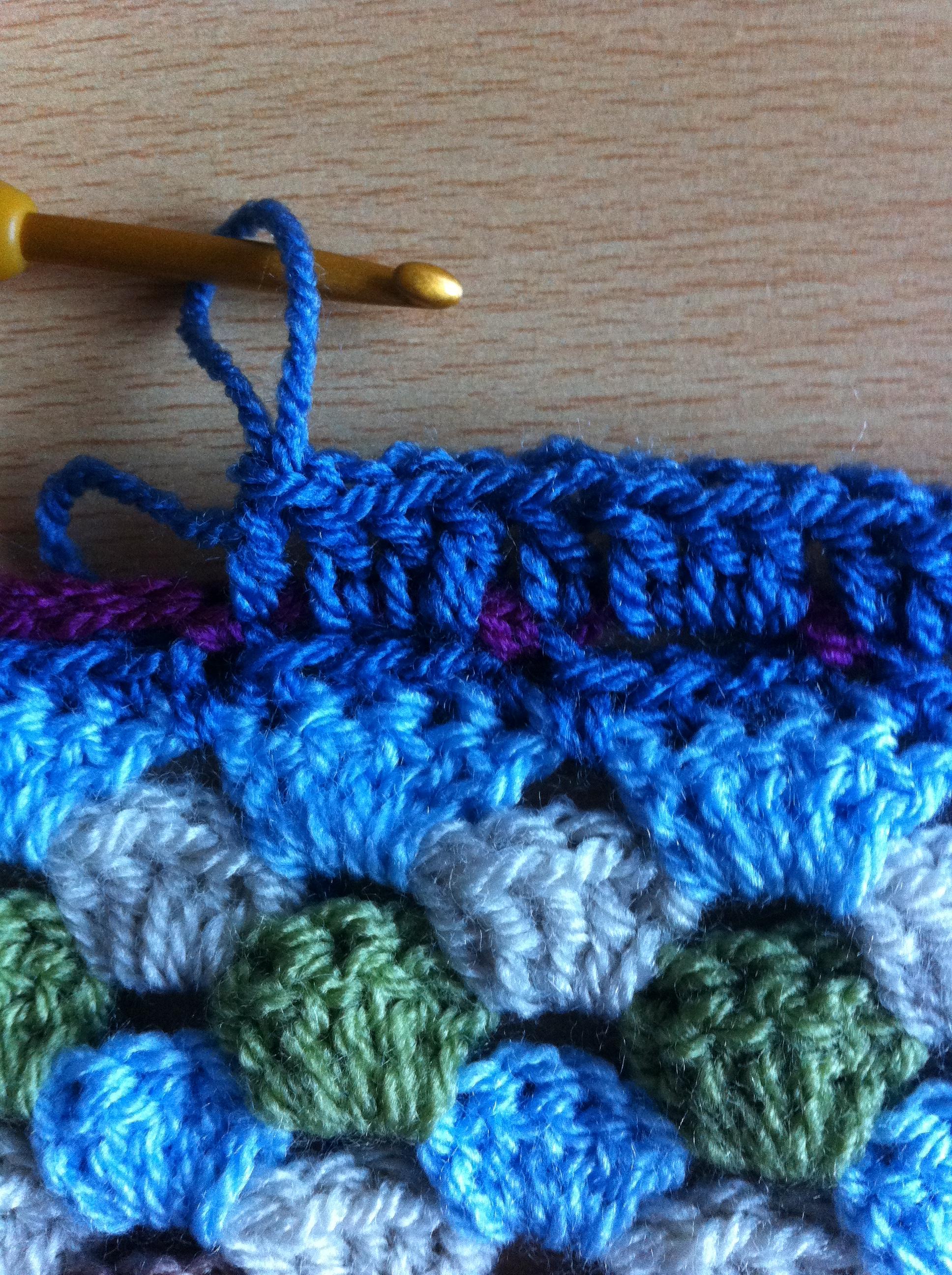 Crochet Pattern For Edging On Afghan : Alfa img - Showing > Edging Crochet Afghan Patterns