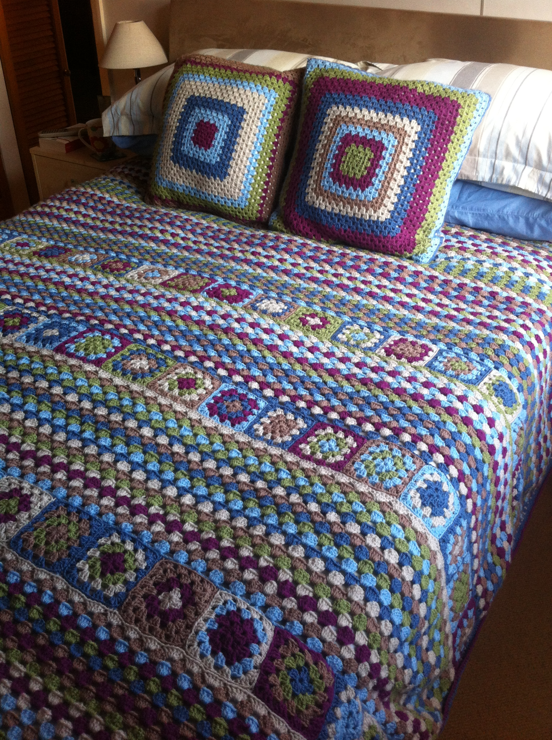 Knitted Bedspread For Beginners