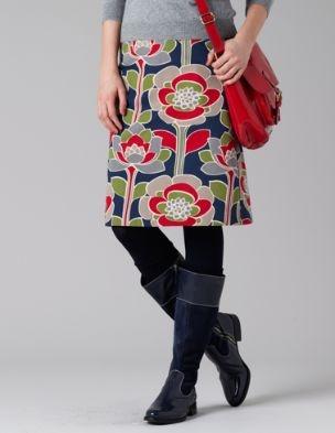 boden flower skirt