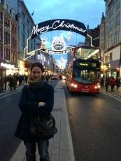Oxford Street, Christmas 2012