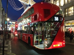 The new Routemaster London bus