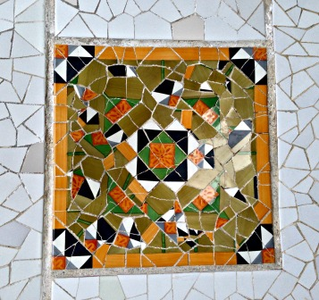 Parc Guell Mosaic3