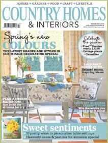 Country Homes and Interiors March 2013