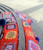 Yarnbomb bench Genoa
