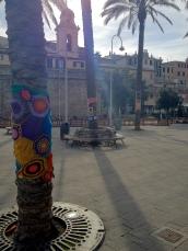 Genoa yarnbomb trees