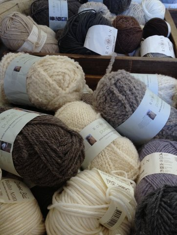 Rowan wool at Wool House craft room