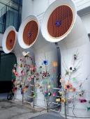 Genoa Aquarium yarnbomb