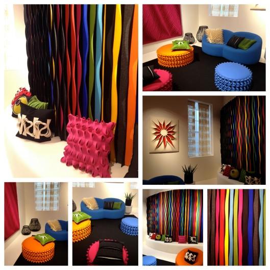 Wool House  Modern room