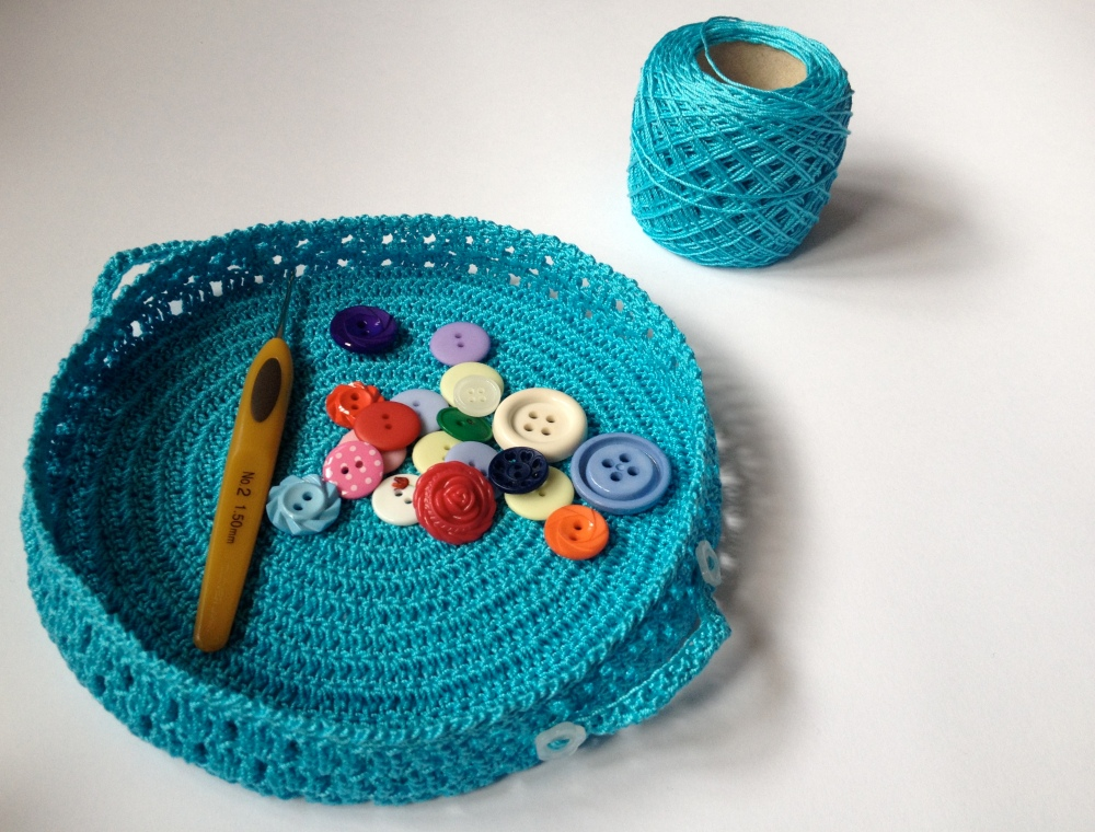 Crochet baskets (1/5)