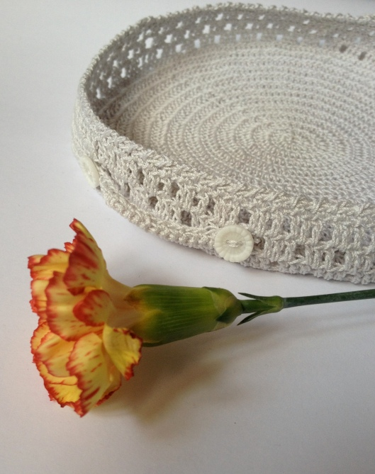 crochet basket carnation crochet hook