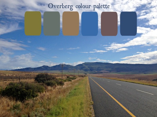 Overberg colour palette