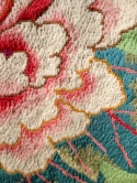 Those embroidery stitches are absolutely perfect. Each and every one.
