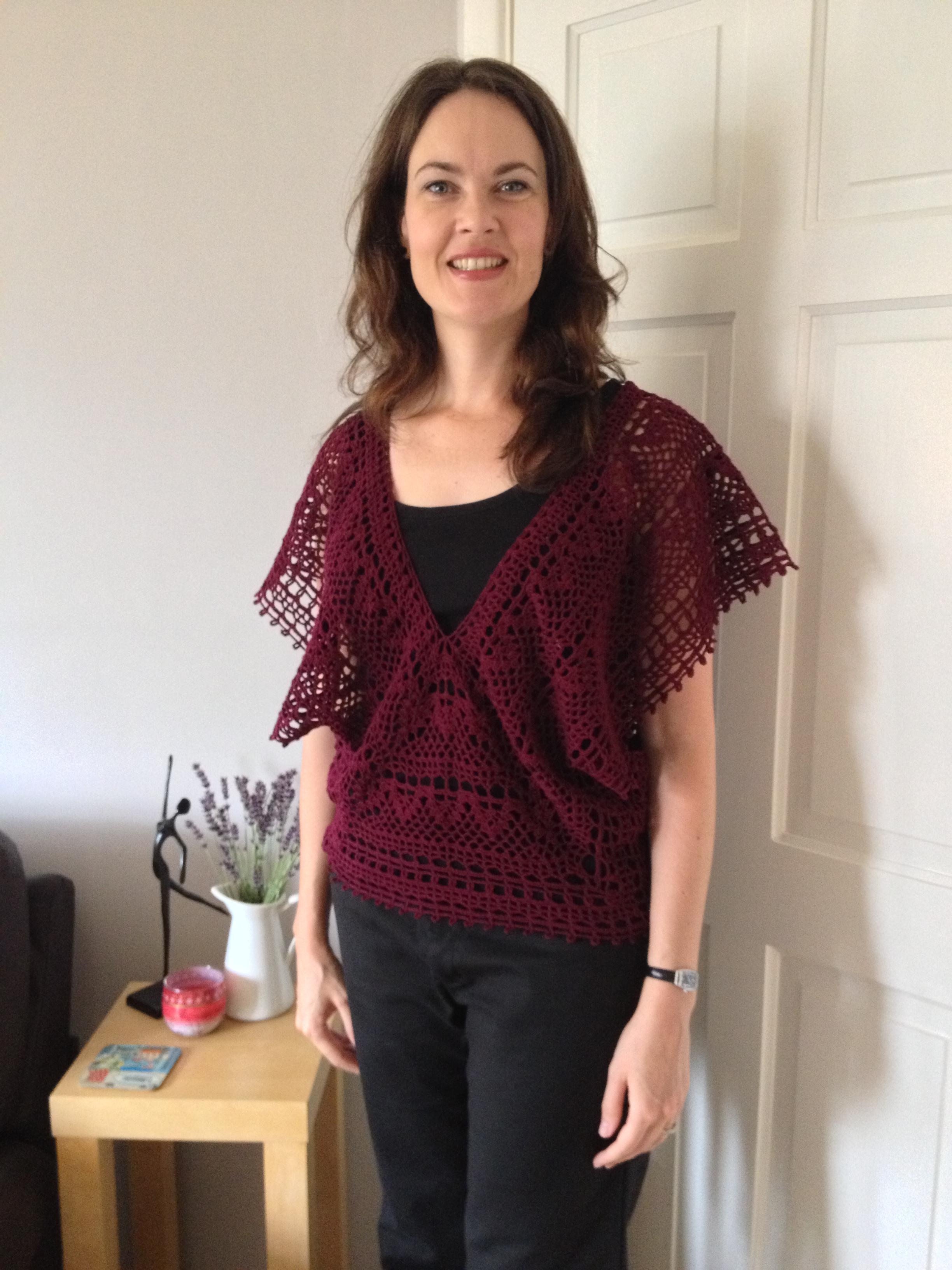 Japanese v neck ta daaaah crochetime japanese crochet v neck top bankloansurffo Image collections