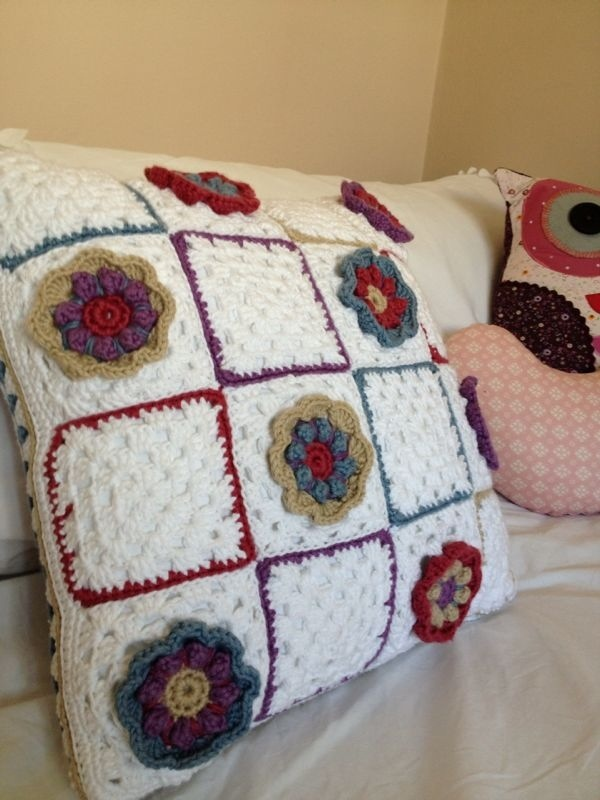 Granny Square in Bloom cushion.jpg