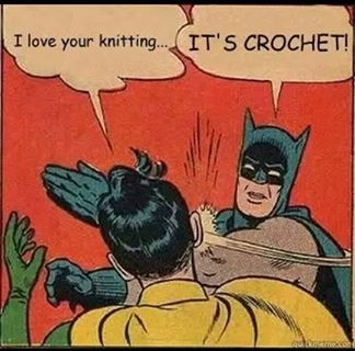 I love your knitting
