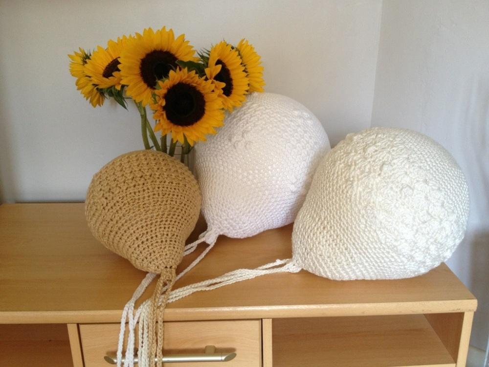 Crochet balloons for a nursery (3/6)