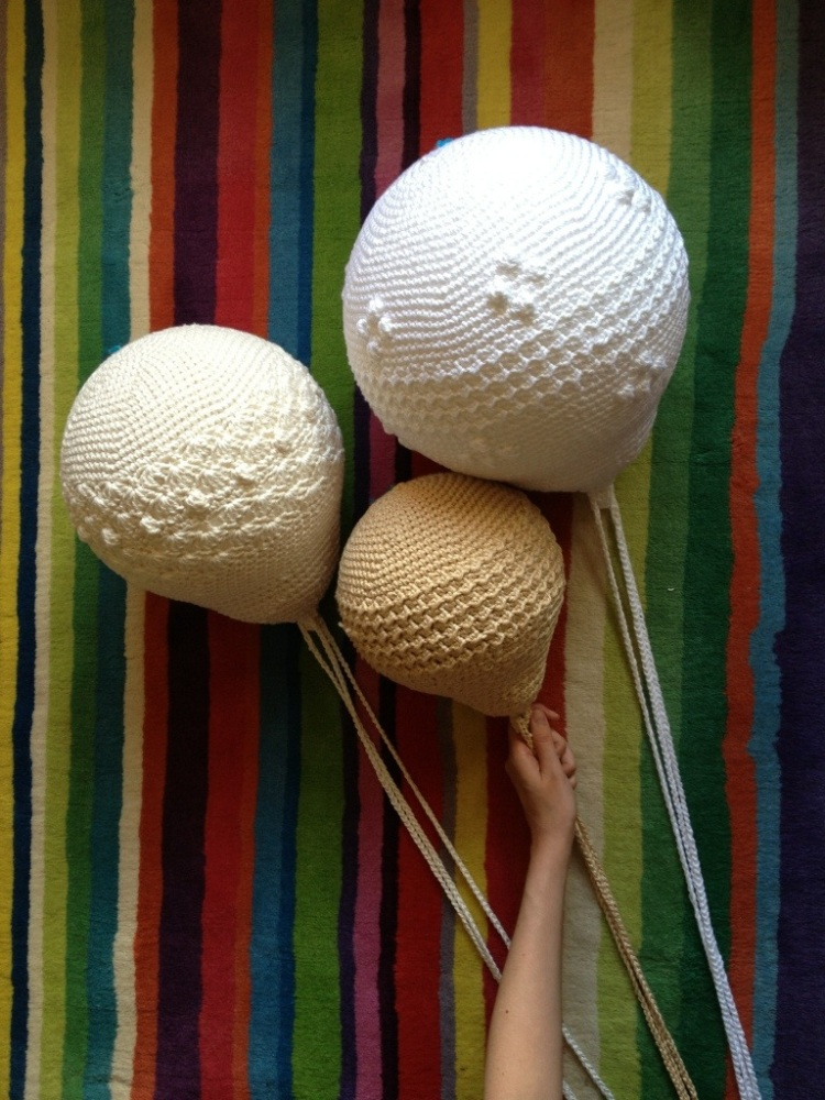 Crochet balloons for a nursery (1/6)