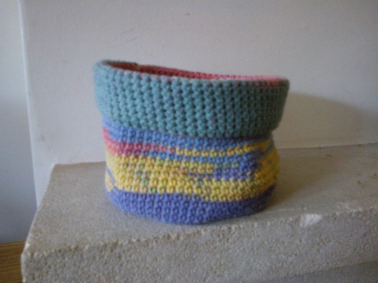 crochet basket by Jane