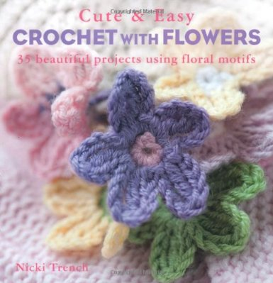 cute and easy crochet with flowersjpg