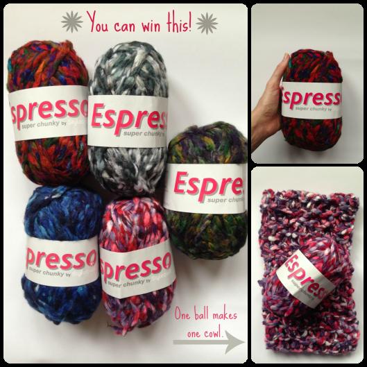 Espresso yarn