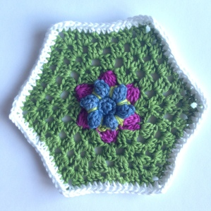 Hexagon In Bloom Shells