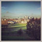 View from the Royal Observatory