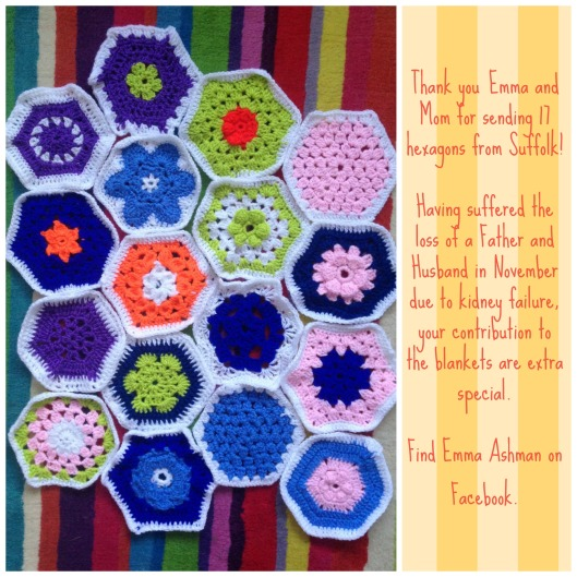 Emma Ashman hexagon collage
