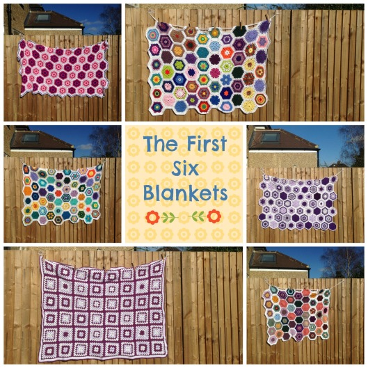 First six blankets