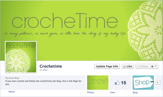 crocheTime facebook