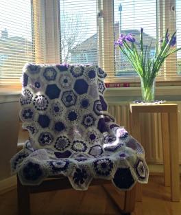 Blanket made by Elizabeth (Liz)