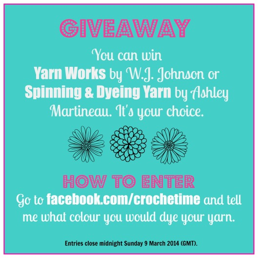 Spinning and Dyeing yarn giveaway