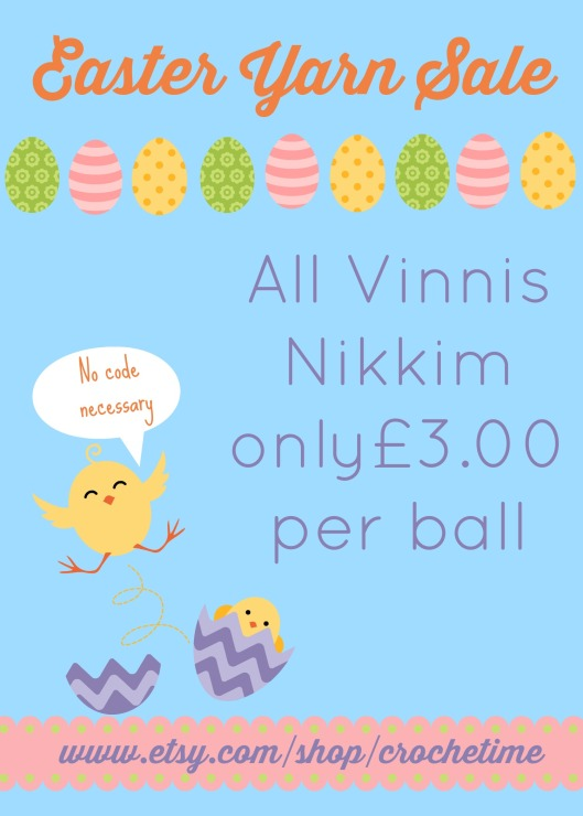 Vinnis easter yarn sale