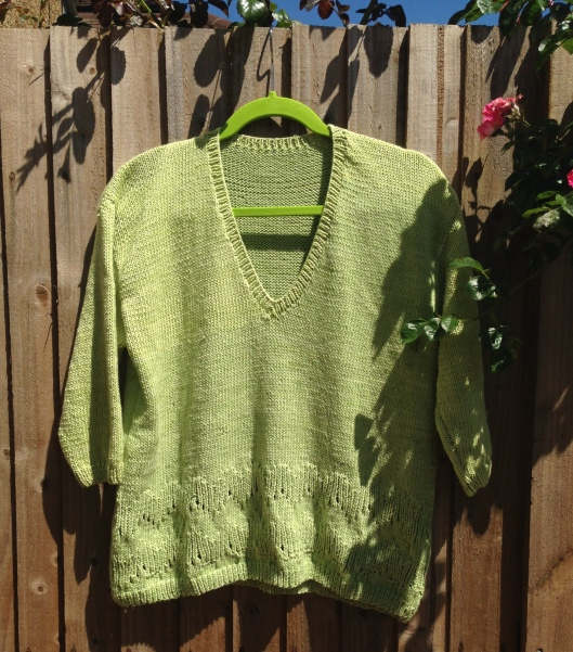 Stylecraft ladies sweater 8948