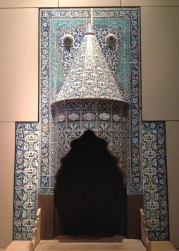 Turkish chimney piece with names of Seven Sleepers, 1731
