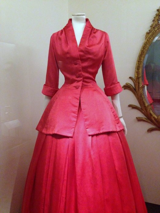 Zemire evening ensemble, Christian Dior 1954
