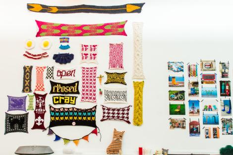 fiber art studio