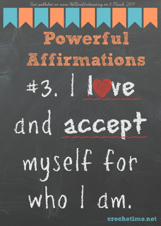 Powerful Affirmation no 3 love and accept myself