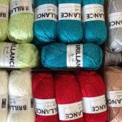 Brilliance yarn