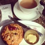 Fat Rascal and Betty's House Blend tea