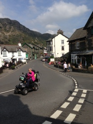 The tame racing driver of Coniston