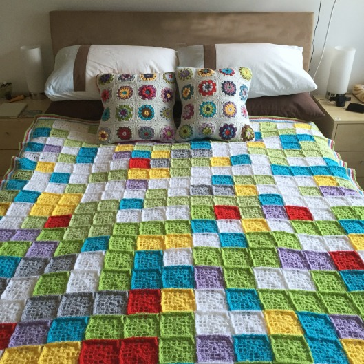 crochet mood blanket 2014