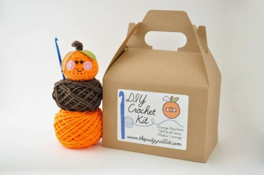 pudgy rabbit etsy shop crochet kit