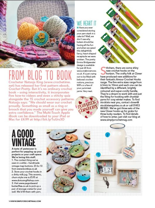 Crochet pretty in Simply Crochet issue 27