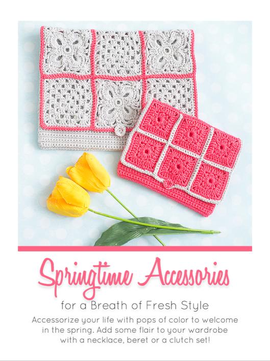 Springtime accessories cover