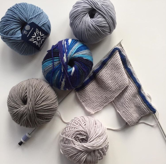 MillaMia yarn knitting