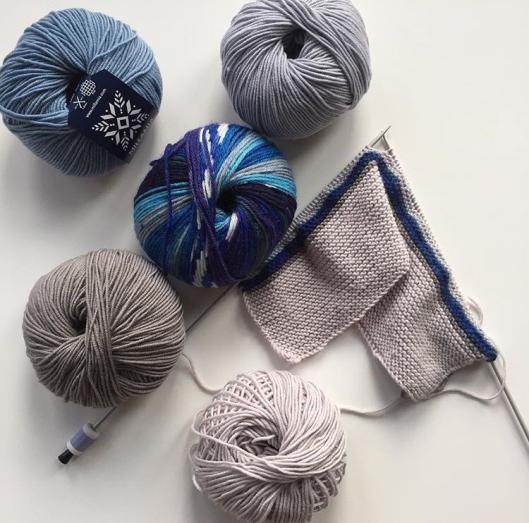 MillaMia yarn knitting