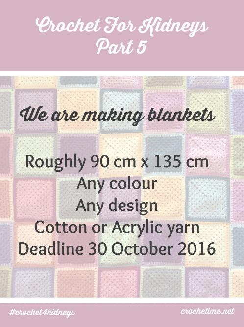 Crochet For Kidneys Part 5