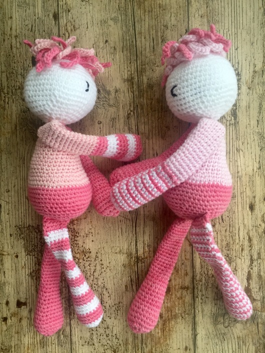 Crochet doll pattern Amigurumi toy tutorial PDF Cute doll making ... | 705x529